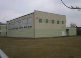 Sala gimnastyczna przy Szkole Podstawowej w Cendrowicach gm. Góra Kalwaria